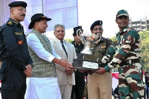 8th All India Police Commando Competition -2017